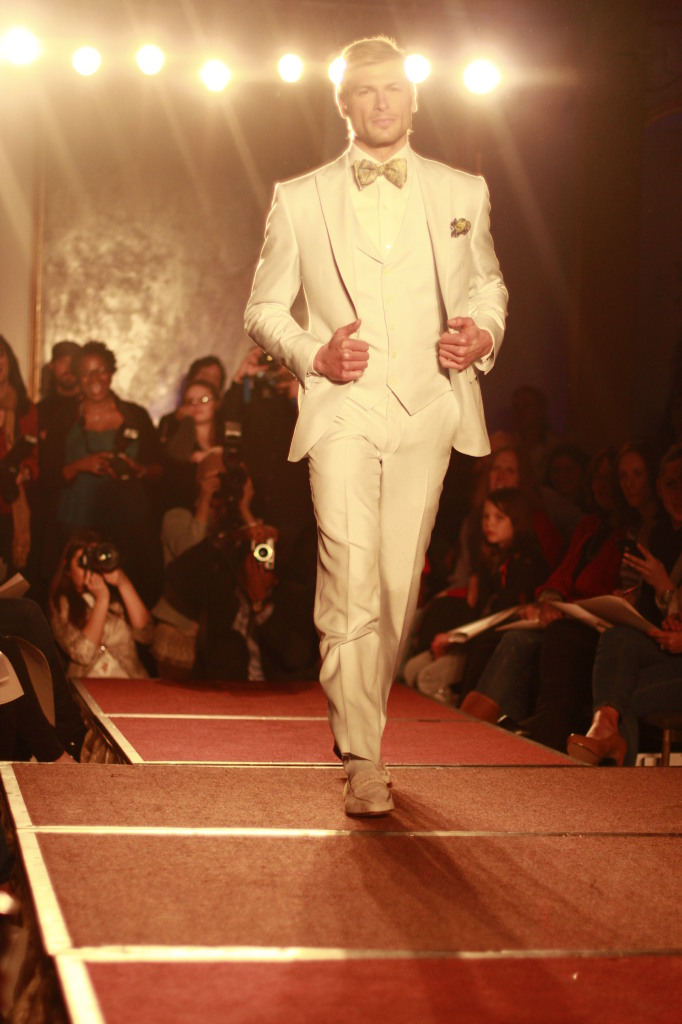 White suit done right