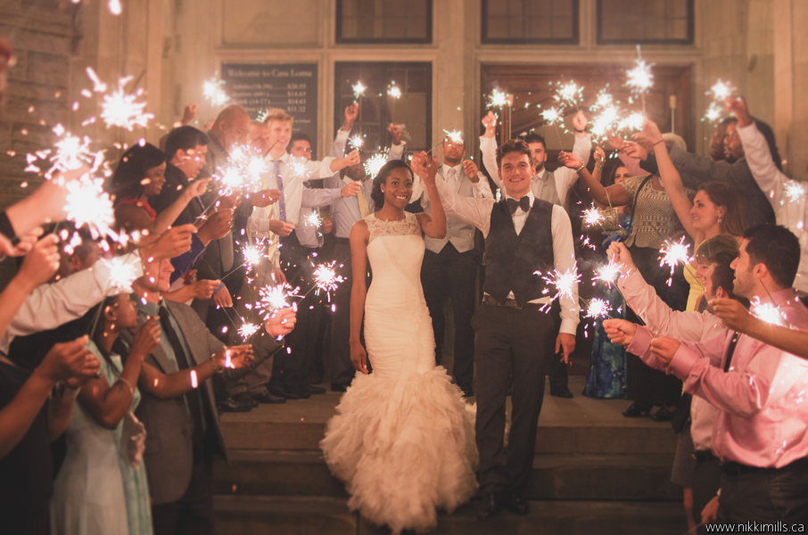 Sparklers for your wedding
