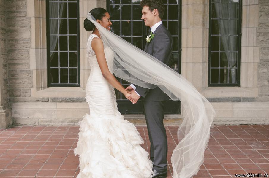 Bride and Groom Casa Loma