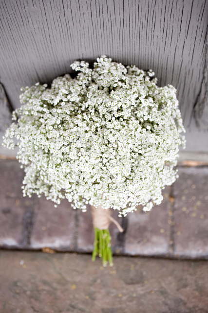 Baby's breath have made a comeback!