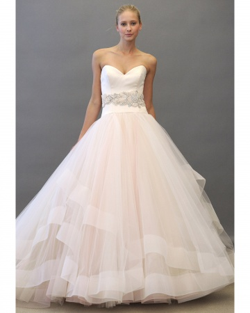 Lazaro Ball Gown Wedding Dress
