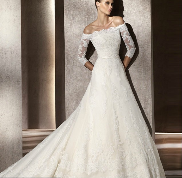 Top 3 Wedding Dress Trends For 2012